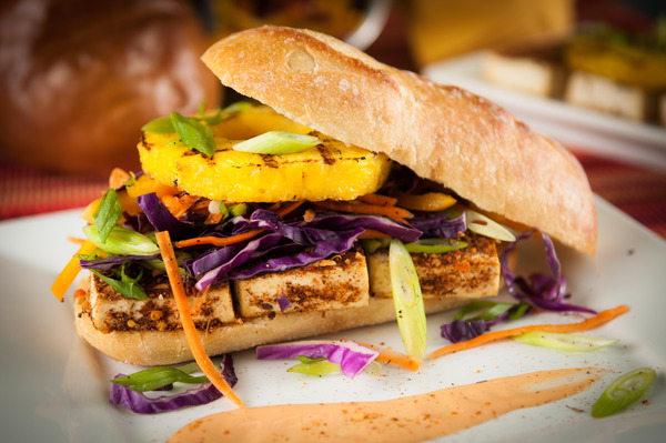 Recipe: Jerk Tofu Sandwich With Mango Aioli, Grilled ...